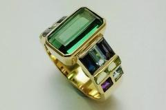 Mosaic-ring