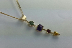 gemstones necklace