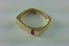 gold ring - mens