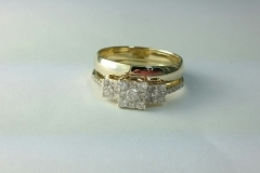 wedding set gold