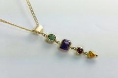Birthstone-pendant