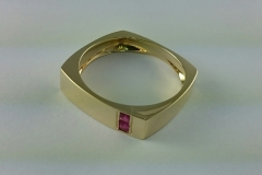 Gold ring - men's